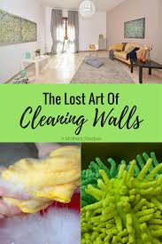 easy way to clean your walls
