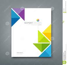 Annual Report Templates Free Download 043 Cover Annual Report Colorful Windmill Origami Paper