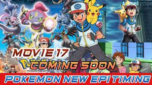 Pokemon Movie 17 😍||Pokemon New Episodes Timeing On MarvelHQ ||Doremon  movie Coming 20 November? - YouTube