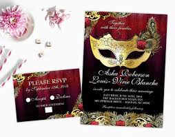 Masquerade Wedding Invites Masquerade Wedding Invitation Mardi Gras Wedding Printable Etsy