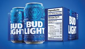 Bud Light Design Anheuser Busch Adds Nutrition Facts Label To Bud Light