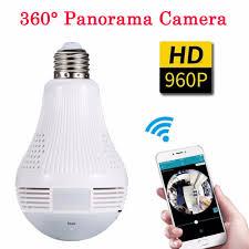 Light Bulb Camera Near Me 360 Degree Panorama Video Camera Wifi Ip Light Bulb