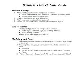 Business Plan Outline Guide Simple But Smart Ardent Skills Kidsperiences