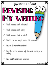 how to teach students to revise their writing papers  how to teach students to revise their writing papers teacherkarma