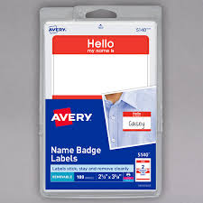 avery nametag