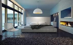 Luxury Master Bedroom Using White Thompson Bed By Modloft
