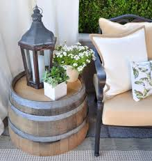 easy diy patio furniture projects you should already start planning wine barrel table