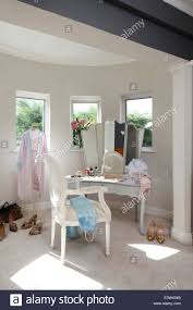 Louis Style Bedroom Furniture Period Louis Style Chair At Dressing Table In Bedroom With Bay