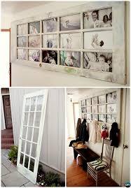 Door Picture Frame Coat Rack DIY Door Picture Frame Coat RackRepurpose Old Door Into Picture 17