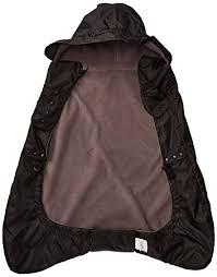 Amazon.com : Ergobaby Fleece Lined Winter Weather Cover, Black : Baby