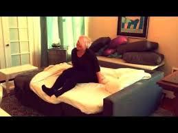 sofa bed with friheten from ikea