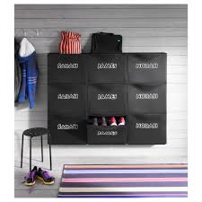 Shoe Rack Ikea Trones Shoe Cabinet Storage Black 51x39 Cm Ikea