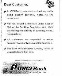Notice Board Icici Bank Ltd