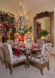 View in gallery Dazzling Christmas dining room with Mediterranean flair  [Design: Spallina Interiors]