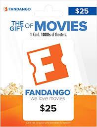 Amazon.com: Fandango Gift Card $25: Gift Cards