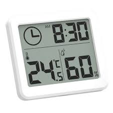 <b>MoesHouse Multifunction Thermometer</b> Hygrometer Automatic ...