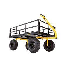 super heavy duty steel utility cart