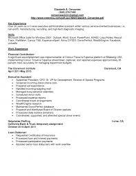 Beautiful C Level Executive Assistant Resume Sample Photos