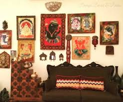 Indian Inspired Wall Decor Ideas