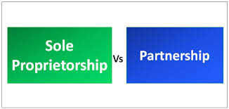 Partnership Equity Chart Of Accounts Sole Proprietorship Vs Partnership Top 9 Differences With