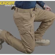 Fashion Cotton Pockets Pants IX9 Tactical Cargo Pants & Combat ...