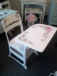hand painted school desk spent alot of time in one that was really ugly