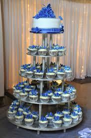 12 Simple Royal Blue Cupcakes Photo Royal Blue Cupcake Wedding