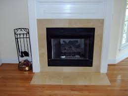 subway tile fireplace marble