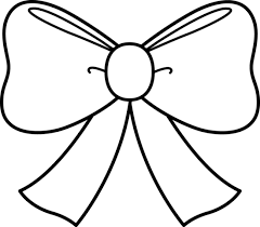 Small Picture Cute Bow Coloring Page Free Clip Art