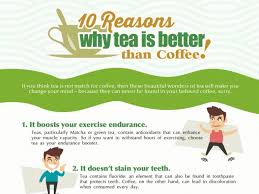 What religion does not drink tea or coffee? 10 Reasons That Tell Tea Is Better Than Coffee Infographic