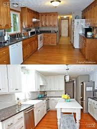 how to paint kitchen cabinets without sanding them white painted reveal home ideas within painting wood