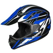 Raider Rx1 Mx Helmet Blue