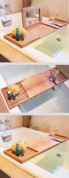 best 25 bath caddy ideas on bath shelf spa and bath caddy with mirror and wine glass holder awesome