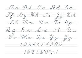 Printable Lowercase Cursive Letters Large Size Of Worksheet