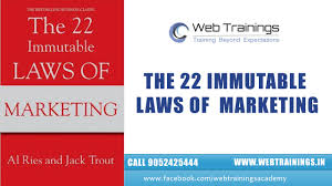 22 Immutable Laws Of Marketing The 22 Immutable Laws Of Marketing Recommended Marketing Book