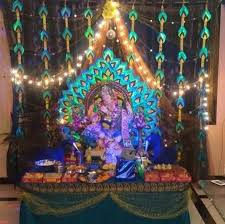 150 best ganapati decoration images
