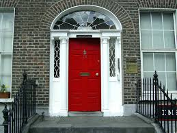 red front door white house. Unbelievable Front Ergonomic White House Door Best Inspirations Image For Red Black Shutters Trend And Ideas C