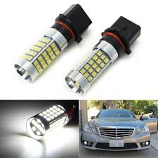 W212 Parking Light Replacement Ijdmtoy Error Free 69 Smd Sh23w Led Daytime Running Light Bulbs For 2010 And 2011 Mercedes W212 C207 A207 E350 E550 Xenon White