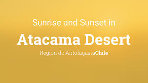 Happy chanukah from your friends at chabad.org! Sunrise And Sunset Times In Atacama Desert