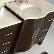 54 Bathroom Vanity Cabinet Silkroad Exclusive Kimberly 54 Single Bathroom Vanity Set