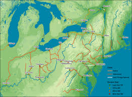 Major Canals Built In The 19th Century American Northeast