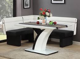 Dining nook furniture Hamptons Style Dining Mig Furniture Chintaly Natasha Dining Table Nook Set