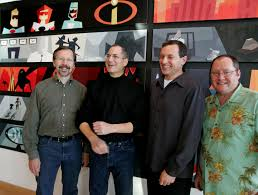 john lasseter steve jobs. Contemporary Steve From Left To Right Ed Catmull Steve Jobs Robert Iger And John Throughout Lasseter Jobs S