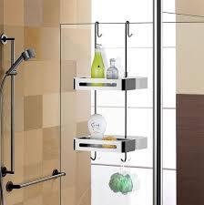 Best 25 Hanging Shower Caddy Ideas On Pinterest Shower Storage Intended For Bathroom  Shower Storage Ideas Decorating