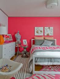 Pink Paint Colors For Bedrooms Pink Paint Wall Color For Adorable Teenage Girls Room Ideas With