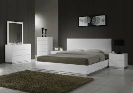 Modern Bedroom Furniture Nj Furniplanetcom Buy White High Gloss Naples Queen Size Bed At
