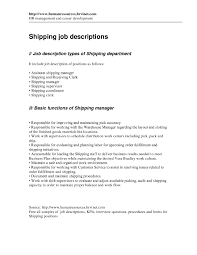 Shipping And Receiving Resume Shipping Receiving Clerk Resume Therpgmovie 46