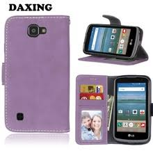 lg zone 3 phone cases. daxing case for lg zone 3 frosted flip pu leather phone cases optimus lg