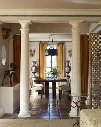 roman themed living room