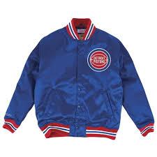 Adp Piston Size Chart Satin Jacket Detroit Pistons Mitchell Ness Nostalgia Co
